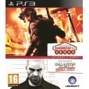 Tom Clancys Splinter Cell Double Agent + Tom Clancys Ghost Recon Rainbow Six Vegas EN (PS3)