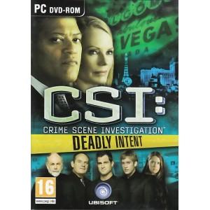 CSI: Deadly Intent (PC)