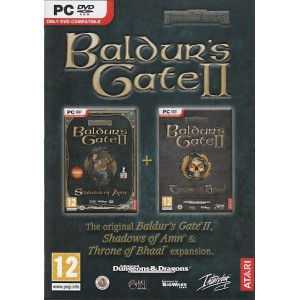 Baldurs Gate 2: Shadows of Amn and Throne of Bhaal (PC)