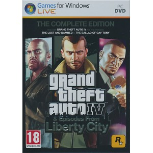 Grand Theft Auto 4 (The Complete Edition) (PC)