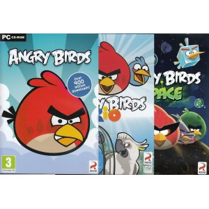 Multibuy+: Angry Birds + Angry Birds Rio + Angry Birds Space (PC)