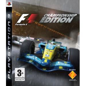 Formula One Championship (PS3)