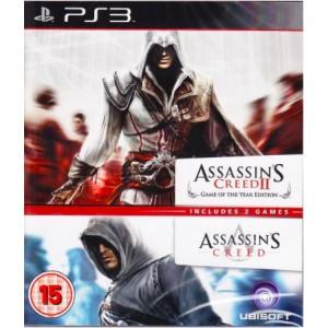 Assassins Creed 1 + 2 (PS3)