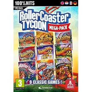 Rollercoaster Tycoon (Mega Pack) (PC)