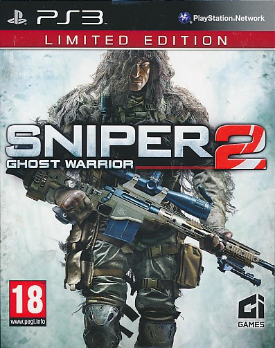 Sniper: Ghost Warrior 2 (Limited Edition) (PS3)