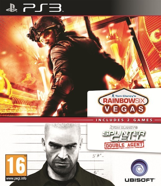 Tom Clancys Splinter Cell Double Agent + Tom Clancys Ghost Recon Rainbow Six Vegas (PS3)