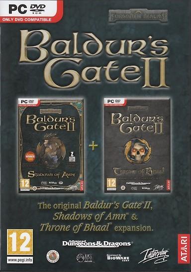 Baldurs Gate 2: Shadows of Amn and Throne of Bhaal (PC)