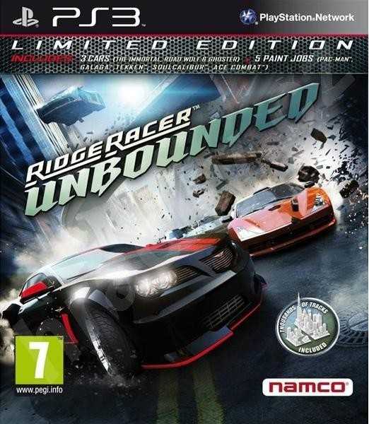 Ridge Racer: Unbounded (Limited Edition) (PS3)