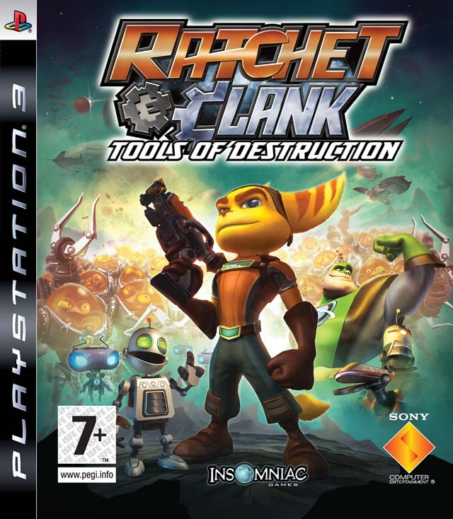Ratchet and Clank Tools of Destruction (PS3)