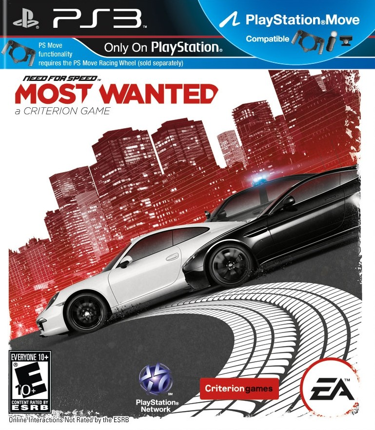 Need for speed: Most Wanted 2 (PS3)