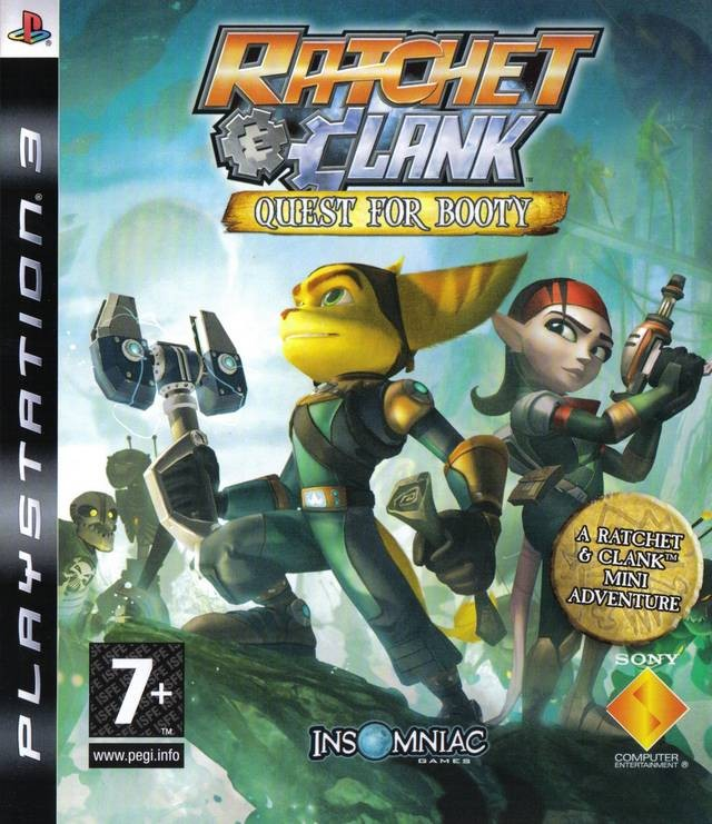 Ratchet and Clank Quest for Booty (PS3)