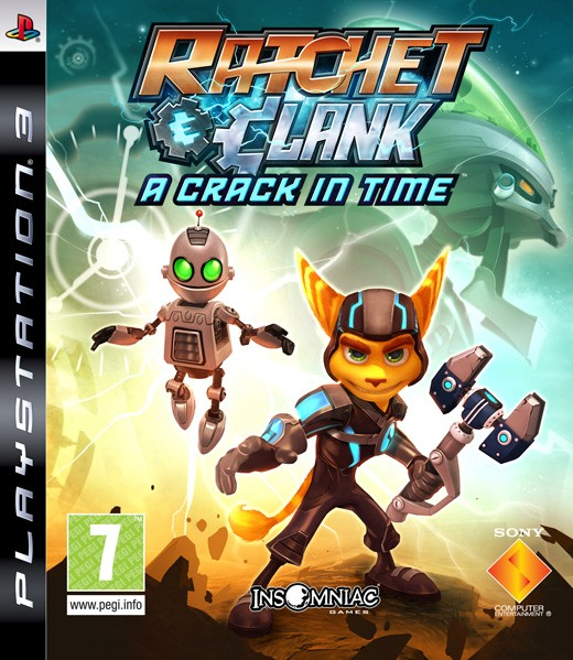 Ratchet and Clank A Crack in Time (PS3)
