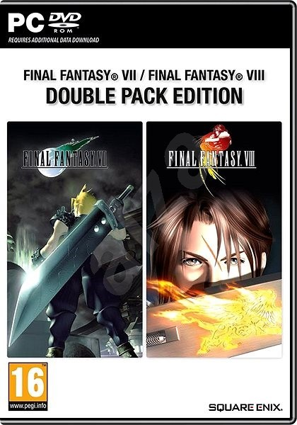 Final Fantasy VII + Final Fantasy VIII (Double Pack Edition) (PC)