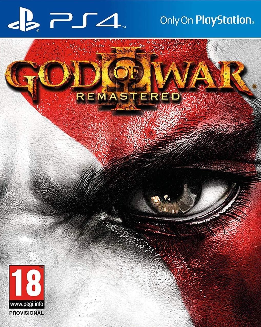 God of War 3 Remastered (DE obal) (PS4)